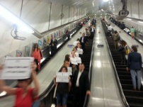 London Underground Protest