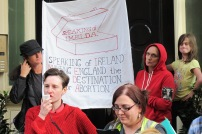 Cristina spoke of the cooperation between Irish and Spanish prochoice activists in London